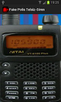 Screenshot of Fake Police Radio-Siren