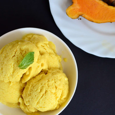 Raw Turmeric Ice Cream