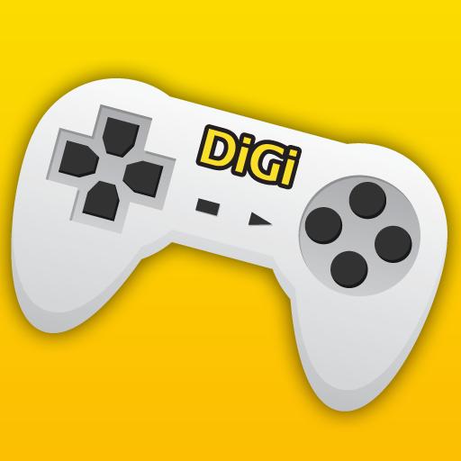 DiGi Games Store LOGO-APP點子