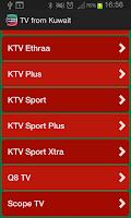 Screenshot of TV from Kuwait
