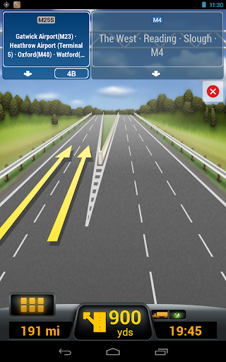 CoPilot Truck Europe Region - screenshot