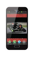 Screenshot of Wallpaper Live Super Bikes GP