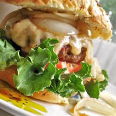 Kerry's Asiago Cheese Hamburger