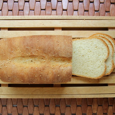 The Bread Bible's Sesame White Bread
