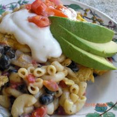 Black Bean Nacho Bake