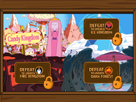 Screenshot of Adventure Time Blind Finned 2