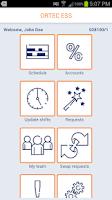 Screenshot of ORTEC Employee Self Service
