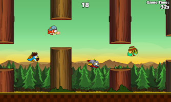 Screenshot of Clumsy Bird