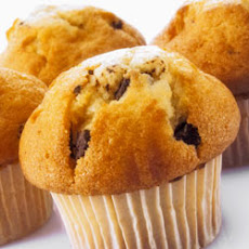 Dannon Chocolate Chip Muffins