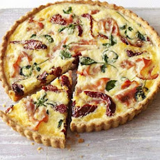 Ham, Tomato & Watercress Tart