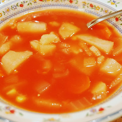 All Veggie Vegetable Soup