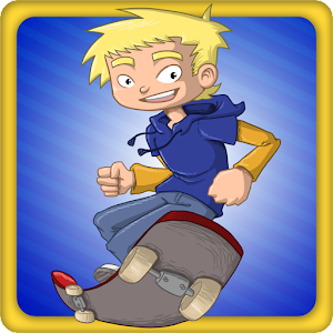 Jumpy Skater – try an endless tap & jump skater game