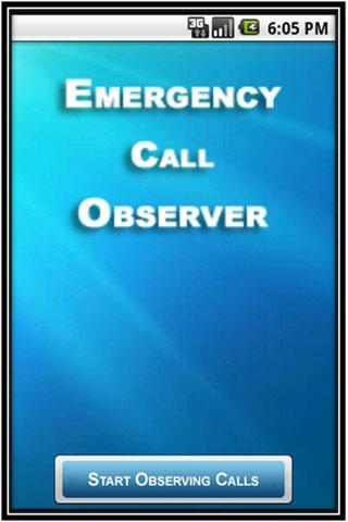 Emergency Call Observer