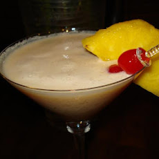 Upside-Down Pineapple Martini