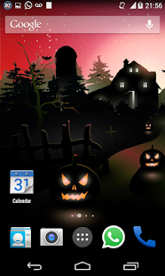 Halloween HD Live Wallpaper 11 - screenshot