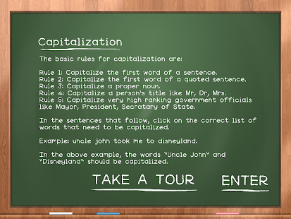 Capitalization For Kids - screenshot