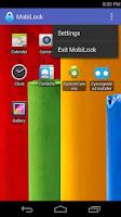 Screenshot of MobiLock Kiosk Lockdown