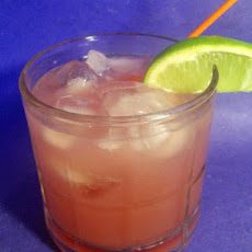 Cranberry and Lime Soda