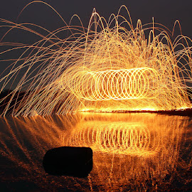 by Karthi Keyan - Abstract Light Painting