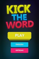 Screenshot of Kick the Word