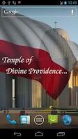 Screenshot of 3D Poland Flag Live Wallpaper