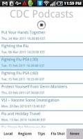 Screenshot of Flu Tracker