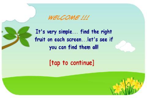 【免費解謎App】Fruit game-APP點子