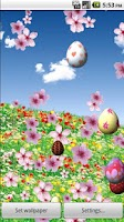 Screenshot of Easter in Bloom LiveWallpaperL