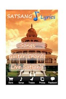 Screenshot of Art of Living Satsang Lyrics