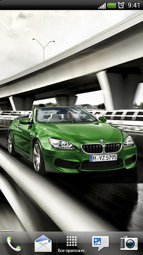 BMW M6 Cabrio Live Wallpaper