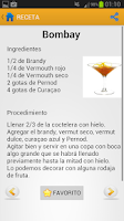 Screenshot of Recetas de Cócteles