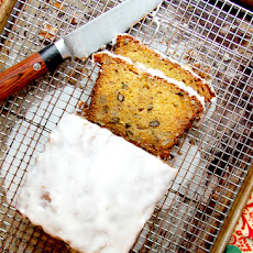 Orange, Pineapple, and Walnut Fruitcake