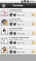 Screenshot of Canciones Dibujos Animados 60