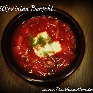 Ukrainian Beet Borscht Recipes