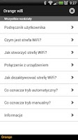 Screenshot of Orange wifi