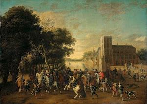 RIJKS: Pauwels van Hillegaert: painting 1625