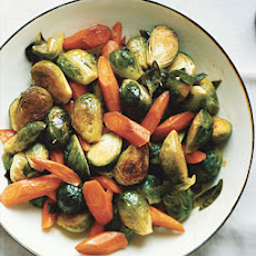 Carrots and Brussels Sprouts