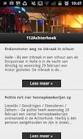 Screenshot of 112 Achterhoek Nieuws