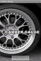Screenshot of Camber Gauge