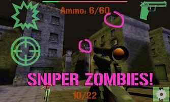 Screenshot of ELITE SNIPER: ZOMBIES