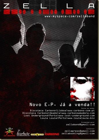 Cartaz promocional Zella