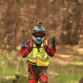 Sweep rider  by Darren Chapman - Sports & Fitness Motorsports ( wear is my bike )