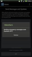 Screenshot of Silent Alarm Panic Button Pro