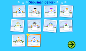 Screenshot of Starfall Snowman
