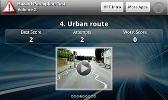 Screenshot of Hazard Perception Test Vol. 2