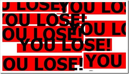 測試你的耐心Lose