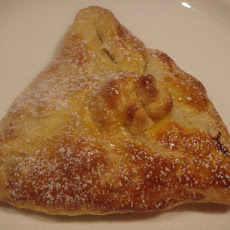 Apple Puff Pastry Parcels with Vin Santo, Sultanas and Pinenuts