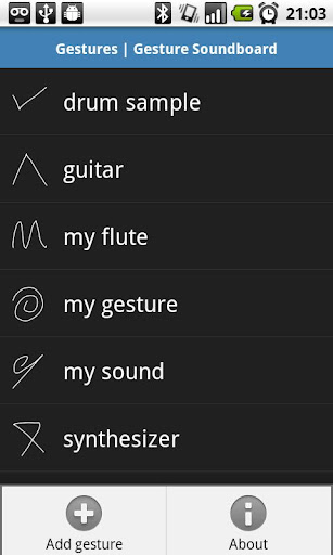 Gesture Soundboard