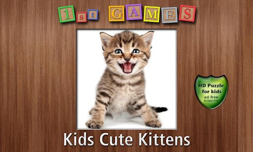 1st Games Cat Puzzles for Kids - screenshot