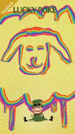 玩免費娛樂APP|下載Super Lucky Poke Rainbow Paint app不用錢|硬是要APP